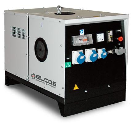 Генераторные установки бензиновые ELCOS Super Silent версия ZIP